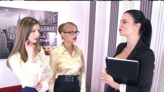 Boundhoneys - Jasmine Jae, Jasmine Sinclair, Stella Cox - She Still Wont Sign (HD/720p/1.33 GB)
