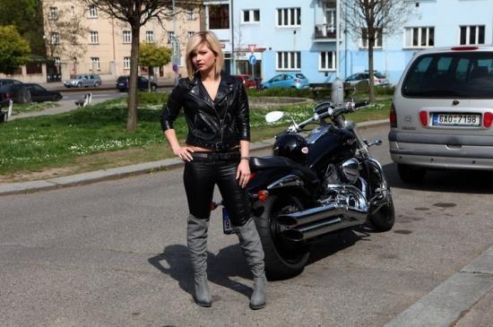 PornstarFisher/CumLouder - Angela - Angel biker (HD/720p/1.34 GB)