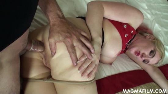 MagmaFilm - Unknown - Blonde harlot gets arse fucked and slurps cum (FullHD/1080p/467 MB)