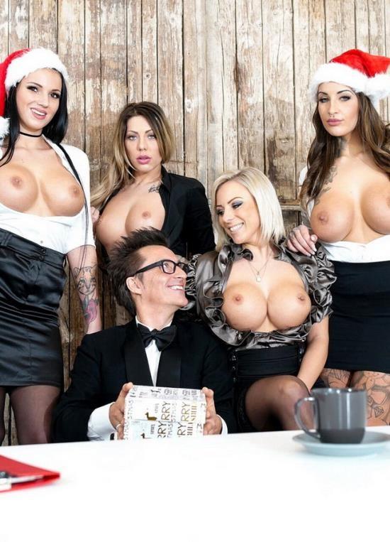 BumsBuero/PornDoePremium - Jolee Love, Lilli Vanilli And Mia Blow - German babes Jolee Love Lilli Vanilli in Christmas group sex affair Pt.1 (FullHD/1080p/1.11 GB)