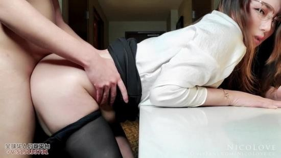 Porn - Nico Love - Horny Secretary Serving Her Boss Ended Up Not Having Enough (FullHD/1080p/852 MB)