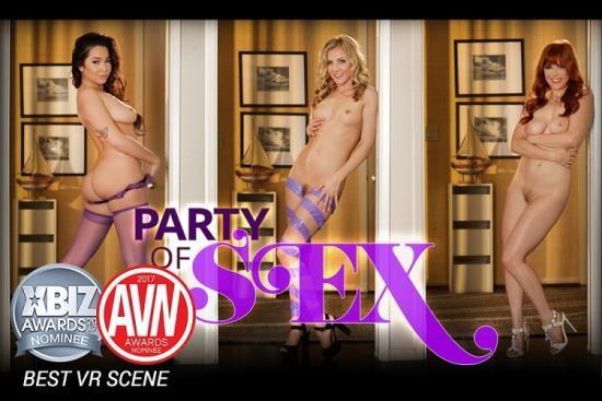 HologirlsVR - Penny Pax, Karla Kush, Karlee Grey - Party of Sex (UltraHD 4K/2160p/2.33 GB)