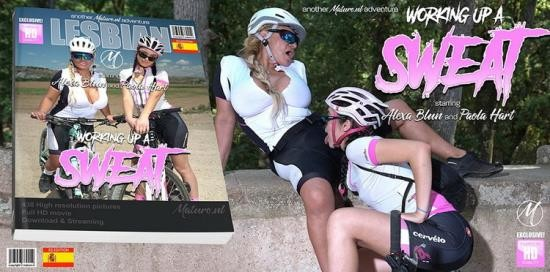 Mature.nl - Alexa Blun (50), Paola Hard (EU) (19) - These old and young lesbians get wet and wild during a bike ride (FullHD/1080p/1.40 GB)