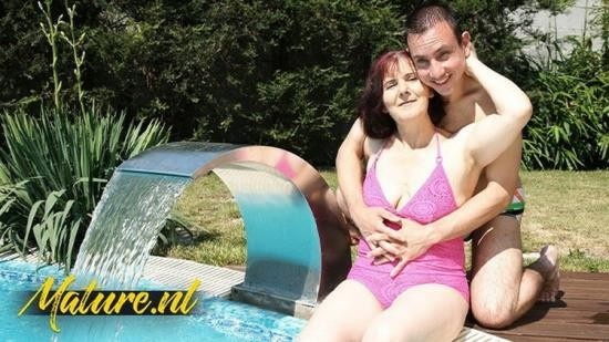 MatureNL - Unknown - Redhead Granny Always Loves a Visit From Her Sons Bestfriend (FullHD/1080p/488 MB)