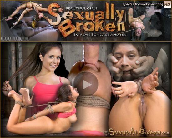SexuallyBroken - Jynx Maze, Matt Williams - Hot Latino Jynx Maze suffers Rope Bondage is Deep Throated, Roughly Fucked Hogtied, Made to Cum (HD/720p/1.10 GB)