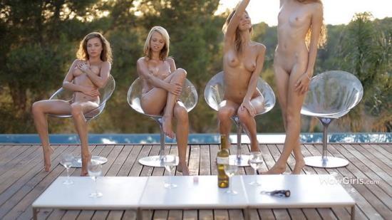 WowGirls/WowFandom - Alyssa A, Maria Pie, Nomi, Vanessa - Girls Will Be Girls (FullHD/1080p/1.53 GB)