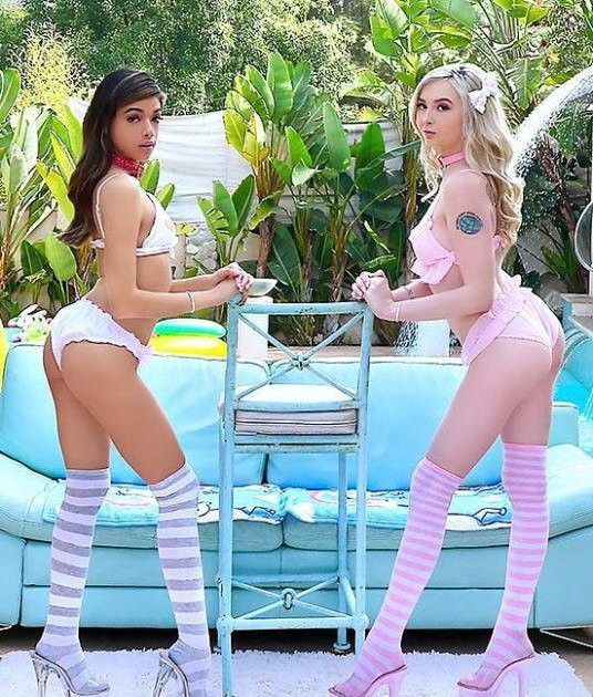 AllAnal - Lexi Lore, Harmony Wonder - Gape Frenzy With Harmony And Lexi (HD/720p/692 MB)