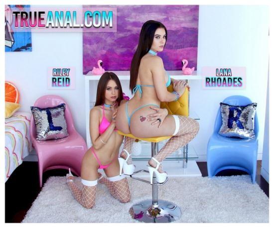 TrueAnal - Lana Rhoades, Riley Reid - Lana And Riley Team Up (HD/720p/884 MB)