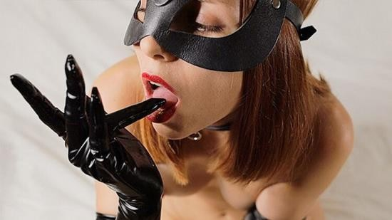 OnlyFans - My Little Swallow - My DELICIOUS WHITE CUM on her BLACK GLOVES. Dirty CUMPLAY by my (FullHD/1080p/637 MB)