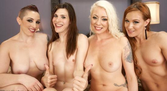 TSPussyHunters/Kink - Lorelei Lee, Mistress Kara, Cheyenne Jewel, Stefani Special - TS Stephanie Special Caught in a a Love Triangle and Gang Banged (HD/720p/2.19 GB)