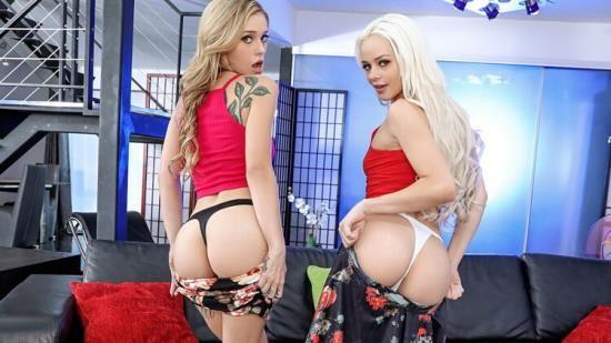 ShareMyBF/Mofos - Elsa Jean, Kali Roses - Blonde Threesome Competition (HD/720p/2.85 GB)