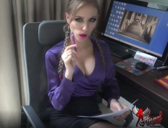 MyDirtyHobby - Angel Desert - Fuck My Face IV Slutty Bimbo Secretary (FullHD/1080p/1.17 GB)
