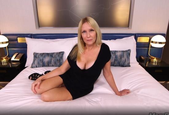 MomPov - Adria - Gorgeous blonde MILF first timer (HD/720p/1.97 GB)