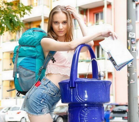 LetsDoeIt/HornyHostel - Jessica Portman - The girl, the guy and the hostel cuckold (FullHD/1080p/1.45 GB)