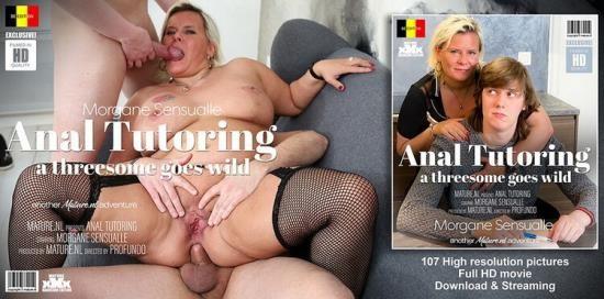 Mature.nl - Morgane Sensualle (EU) (45) - The Threesome Tutor (FullHD/1080p/2.34 GB)