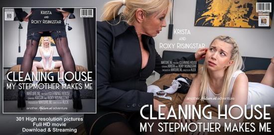 Mature.nl/Mature.eu - Krista E., Roxy Risingstar - How to train your daughter (FullHD/1080p/1.48 GB)