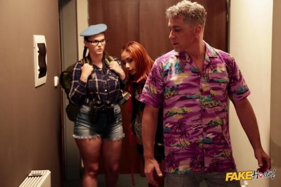 FakeHostel/FakeHub - Veronica Leal, Taylee Wood - Slim and Thicc Girl Threesome (FullHD/1080p/1.26 GB)