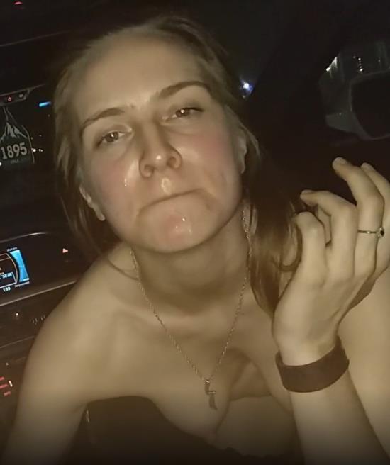 Porn - realdaddysangel - Sexy Babe gives Head in Audi at Night Part II (UltraHD 4K/2160p/1.19 GB)