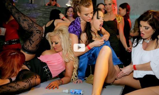Drunksexorgy/ Tainster - Virus Vellons, Jenna Lovely, Sharon Pink, Zuzana Z, Gina Devine, Sweet Cat - Staff Party Part 3 - Lesbian Edit (FullHD/1080p/1.22 GB)