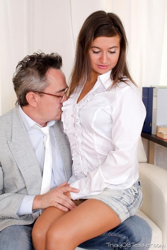 TrickyOldTeacher - Maia - Sweet student cannot resist courtesies from her old teacher (HD/720p/813 MB)
