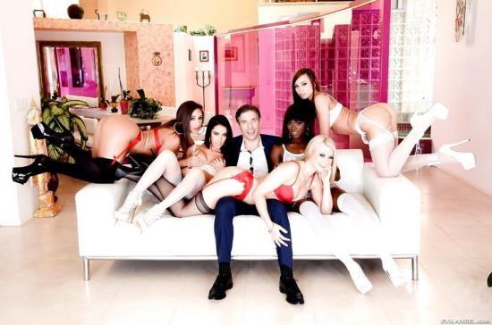 EvilAngel - Megan Rain, Anikka Albrite, Abella Danger, Ana Foxxx, Aidra Fox, Mick Blue - Mick Blues Best Day Ever, Scene 3 (HD/720p/1.99 GB)
