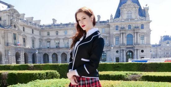 PornoAcademie/PornDoePremium - Anna de Ville - The Exchange Student (HD/720p/906 MB)