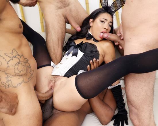 AnalVids, LegalPorno - Eva Perez - Hot Eva Perez Assfucked By 4 Cocks With Intense DP YE140 (HD/1.78 GB)