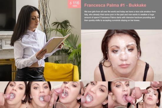 PremiumBukkake - Francesca Palma - Bukkake (HD/720p/1.26 GB)