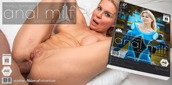 Mature.nl/Mature.eu - Nadya Basinger - Milf Nadya Basinger loves getting an anal creampie (FullHD/1080p/2.36 GB)