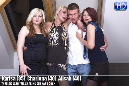 Mature.nl - Karisa, Charlena, Alisah - mat-profgroup009 (HD/720p/1.33 GB)