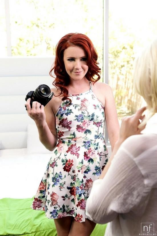 NubileFilms - Charlotte Stokely, Elle Alexandra - Lights Camera Action (FullHD/1080p/1.13 GB)