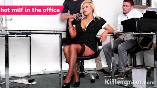 CumIntoMyOffice / Killergram - Aaliyah Ca Pelle - Hot MILF in the Office (FullHD/1080p/2.06 GB)
