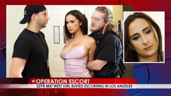 OperationEscort/FetishNetwork - Ashley Adams - 22yr Mid West Girl Busted Escorting in Los Angeles (FullHD/1080p/1.93 GB)