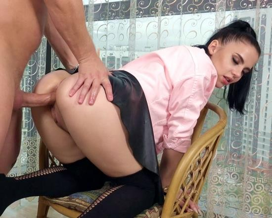 AnalVids, LegalPorno - Sofi Li - Sexy Brunette Sofi Li Gets Ass Fucked Hard By Mr. Anderson With Gapes And Cum In Mouth (SD/664 MB)