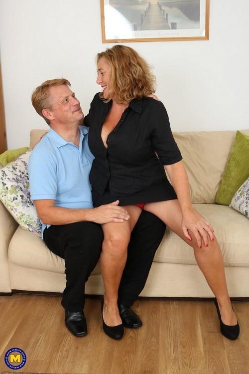 Mature.nl/Mature.eu - Camilla C. (EU) (45) - British horny temptress with big natural tits (FullHD/1080p/1.71 GB)