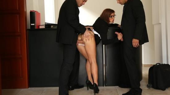 DorcelClub/Dorcel - Tina Hot - THE ADMINISTRATIVE ASSISTANT SHAGGED BY 2 MEN (FullHD/1080p/797 MB)