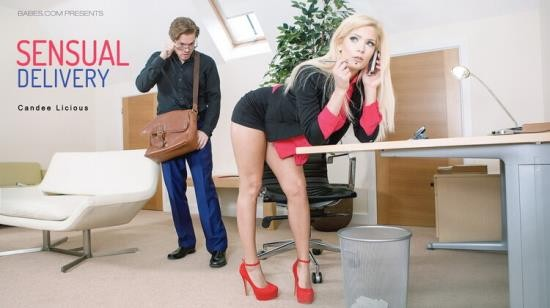 OfficeObsession/Babes - Candee Licious - Sensual Delivery (FullHD/1080p/1.22 GB)