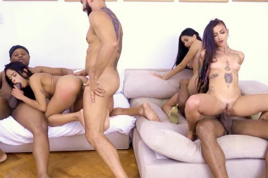 AnalVids, LegalPorno - Natasha Rios, Eva Perez, Caroletta Roots - House Of Deviance: Reality Sex Show And First Ever DP Of EVA (DAP, Pee, 3 On 3, Voyeurism, Balls Deep, Gapes) OB015 (FullHD/3.84 GB)