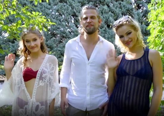 JacquieEtMichelTV.net/Indecentes-Voisines - Cherry Kiss, Tiffany Tatum - Wanted To Bite The Captain At Lake Balaton ... (FullHD/1080p/901 MB)