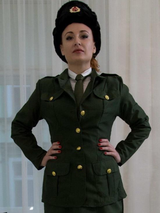 BrickYates - Eva Berger - Russian Military Porn... Take 1! (FullHD/1080p/522 MB)