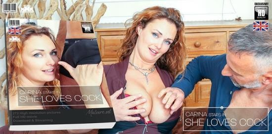 Mature.nl - Carina (EU) (36) - Hairy red MILF Carina has a very special love for hard cocks (HD/720p/1.02 GB)