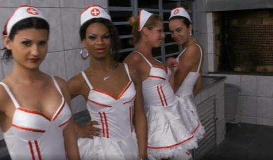 Tranny/TrannyGangbanged - Unknown - Six Insanely Hot Tranny Nurses Gangbang Patient (HD/720p/789 MB)