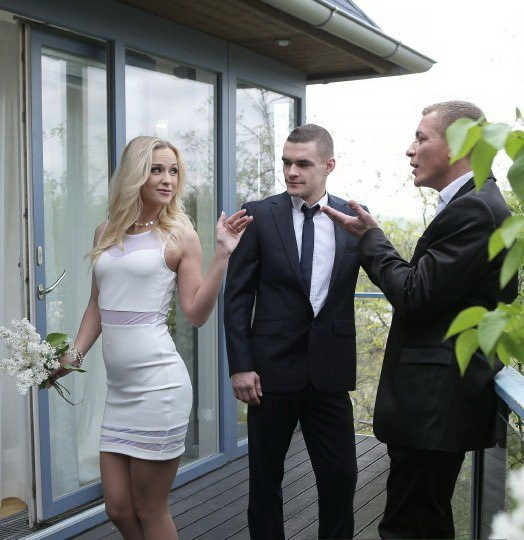 Bang! Glamkore/Bang - Vinna Reed - High Class Blonde Housewife Gets Dp By Hubby And His Boss (FullHD/1080p/1.42 GB)