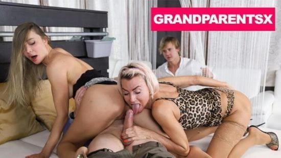 GrandParentsX - Paula, Venera Maxima aka Polina Maxim - Swingers club foursome (FullHD/1080p/2.41 GB)