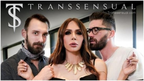 Transsensual - Johnny B, Chris Damned, Sofia Sanders - Hardcore (FullHD/1080p/806 MB)