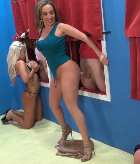 PornHub/PornHubPremium - Bridgette B, Richelle Ryan, Sheridan Love - Dick in the Wall Part 3 (FullHD/1080p/289 MB)