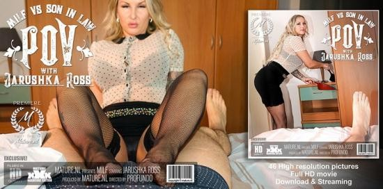 Mature.nl - Jarushka Ross (36) - Hot MILF sucking and fucking her son in law in POV style (FullHD/1080p/1.54 GB)