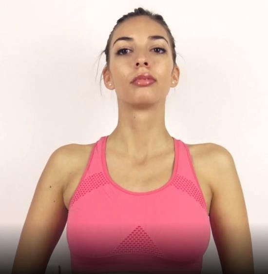 SweetBunnyHub - Sweet Bunny - Beautiful College Girl Does Her Workout Routine Naked And Gets Horny (FullHD/1080p/386 MB)