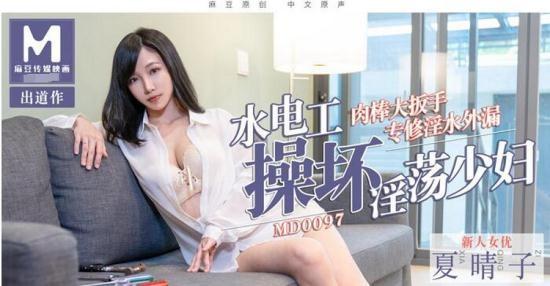 Madou Media - Xia Haruko - The plumber fucks a lustful young woman (HD/720p/420 MB)